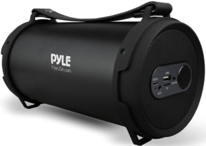 This is an image of the Pyle Portable Bluetooth Boombox - black