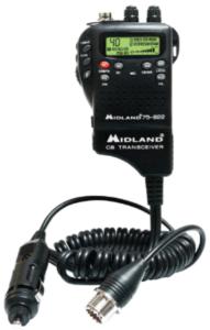 image of a Midland 75-822 40 Channel CB Radio- black