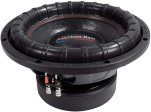 image of the AMERICAN BASS Elite Series 12-inch subwoofer-black