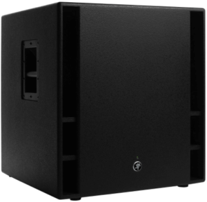 image of a black Mackie THUMP 18-Inch Subwoofer