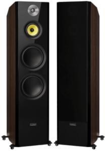 image of the Fluance Signature floorstanding speakers in black color