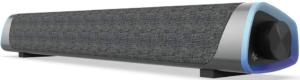 image of a silver Soulion R30 Computer Soundbar Speaker