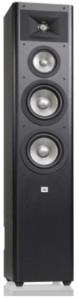 image of the JBL Studio 280 floorstanding speaker- black