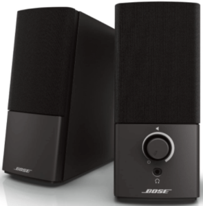 image of the Bose Companion 2 Series III Speakers for PC gaming. pair in black color