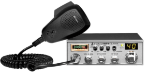 image of the Cobra 25LTD Professional CB Radio with frequency counter for Truck Drivers- black