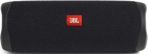 image of a single black JBL FLIP 5 Bluetooth Speaker