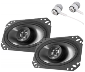 This is an image of the JBL Stage 9603 3-way 2 speakers- black