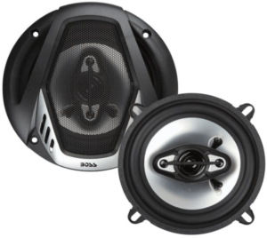 close up image of the BOSS Audio Systems NX524 Car Speakers- set of 2 in black color