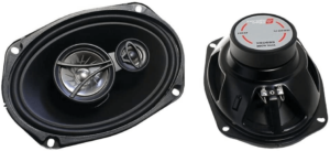 This is an image of the CERWIN VEGA XED693 6 x 9 Inche Coaxial Speaker Set-pair,black