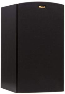 This is an image of a black Klipsch R-15M Bookshelf Speaker