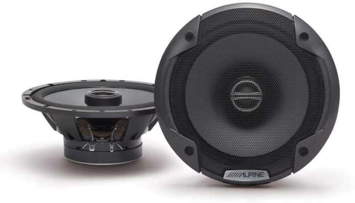 This is an image of a 6.5 inch car speaker