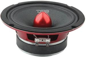 image of a black DS18 PRO-X6.4BM Loudspeaker
