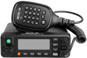 image of the Retevis RT90 dual Mobile Ham Radio- black