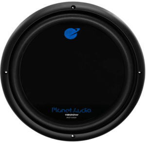image of the Planet Audio AC12D Car Subwoofer- 12 Inch in black color