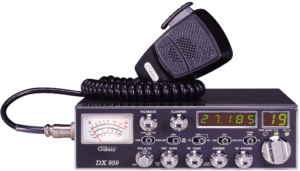 This is an image the Galaxy-DX-959 CB Radio with Frequency Counter for truckers- black