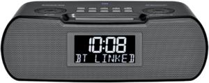 image of a black Sangean RCR-20 Clock Radio