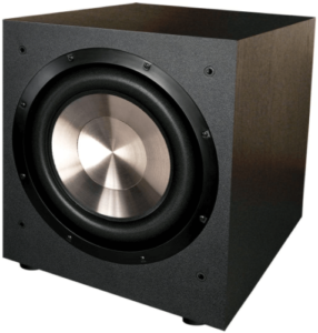 image of the BIC America 12-Inch Powered Subwoofer-black