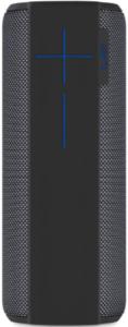 image of a single black Ultimate Ears Megaboom bluetooth speaker