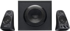 image of the Logitech Z623 Home 3 black Speakers