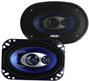 image of the Pyle Sound Speaker System for Car- set of 2 in black color