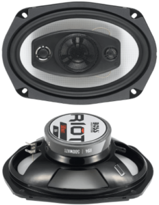image of the BOSS Audio Systems R94 6 x 9 Inch, car speakers-set of 2,black