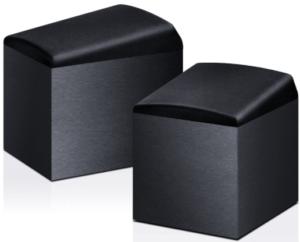 image of 2 black Onkyo SKH-410 Home Audio Speaker