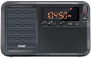 image of the Eton Elite Traveler AM/FM/LW/Shortwave Radio in black color